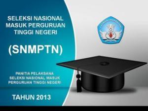 SNMPTN 2013